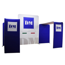 China Portable 10 x 20 Fabric Display Photo Booth Design
