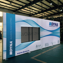 20'x8' Double Sided Free Standing Backlit Display Walls