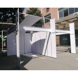 Custom Design Modular Shell Scheme Booths for Middle East