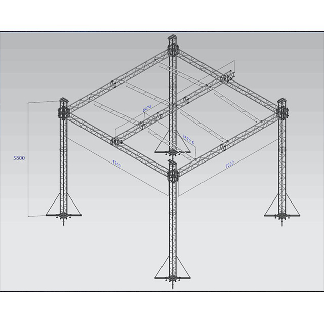 On Sale Aluminum Concert Stage Roof Truss