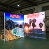 8'x8' Aluminium Double Sided SEG Frame Backlit Backdrop
