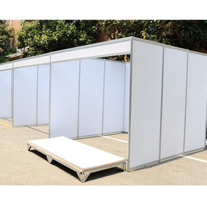 Aluminum Linked Modular Exhibition Stand 3x3
