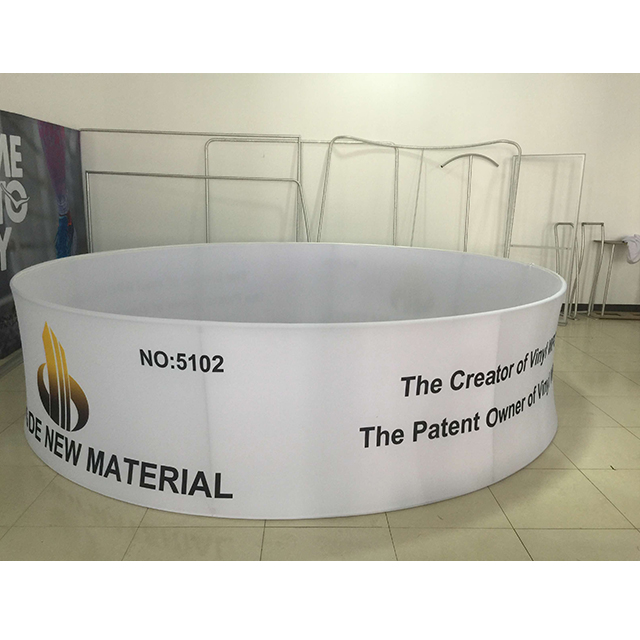 Custom Printing Trade Show Circle Ceiling Hanging Signs