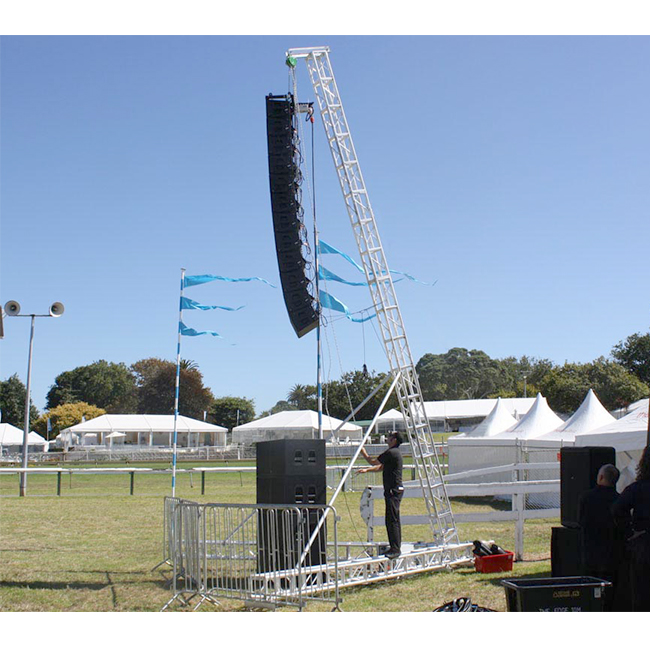 Aluminum Line Array Speaker Truss for Concert
