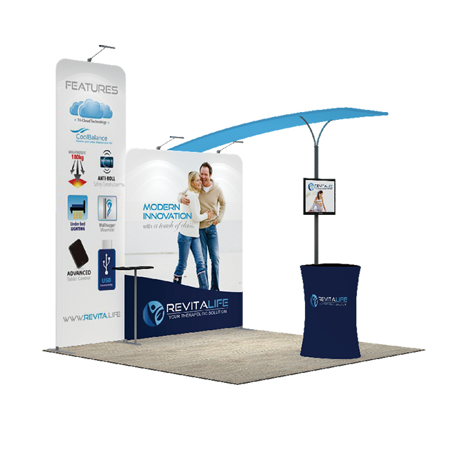 Exhibition Booth Backdrop : Trade show portable exhibition booth display backdrop stands from