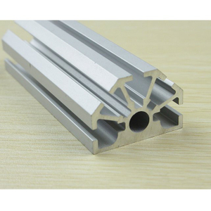 Octanorm 1/2 Aluminum 8 Way Upright Extrusion With Small Hole