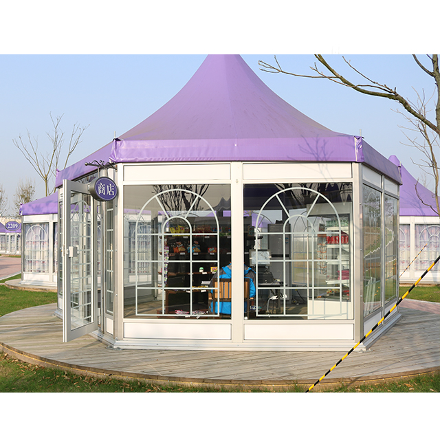Custom Modular Frame High Peak Polygon Tent Design