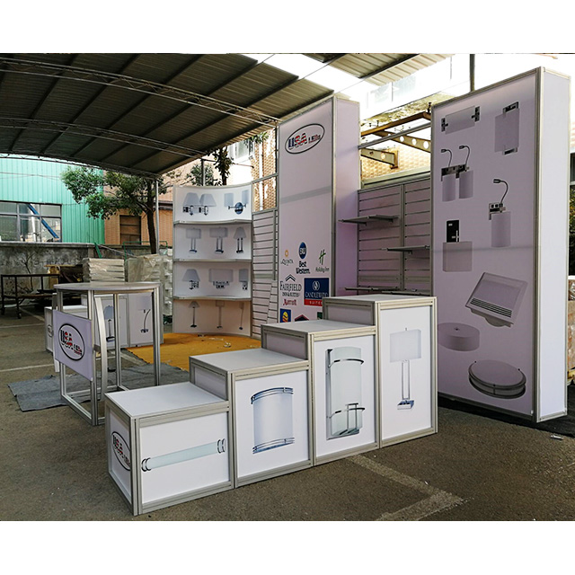 Portable Aluminum 3x6 Exhibition Display Booth