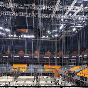 Indoor Ceiling Hanging Aluminum Lighting Truss Structure for Tv Show