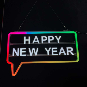 Ultimate Changeable Suspended Glowing LED Message Sign