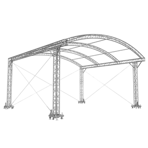China Aluminum Lighting Arch Roof Stage Truss System