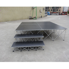 Lightweight Industrial Modular Portable Folding Spider Stage System for School