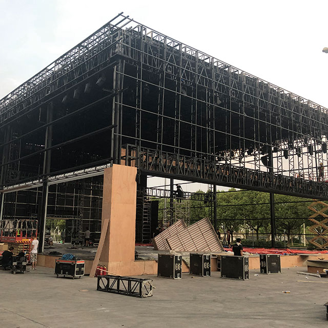 Outdoor Heavy Duty Event Aluminum Truss Structure System for New Product Launch